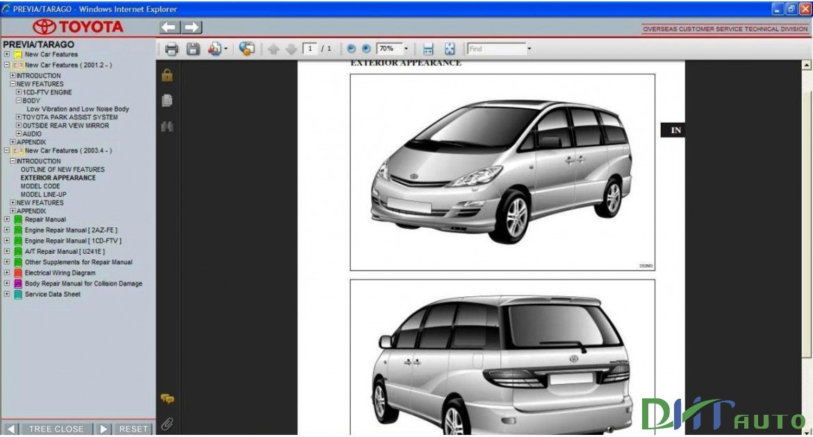 toyota previa workshop manual best setting instruction guide u2022 rh merchanthelps us toyota previa owners manual 2003 toyota previa service manual download