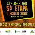 5ª Etapa do Circuito SOUL de MTB - INSCRIÇÕES ABERTAS!!!