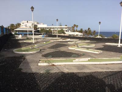 Minigolf San Antonio in Lanzarote by Les Tubby