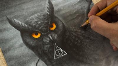 Сова - Хари Потър