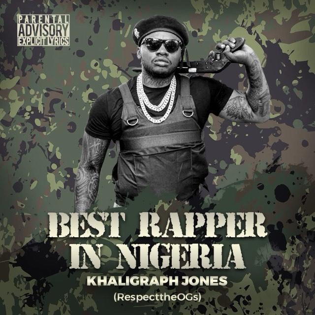 Best Rapper In Nigeria By Khaligraph Jones