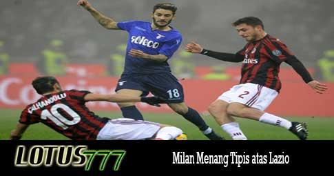 Milan Menang Tipis atas Lazio