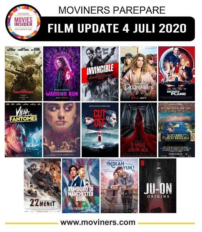 FILM UPDATE 4 JULI 2020