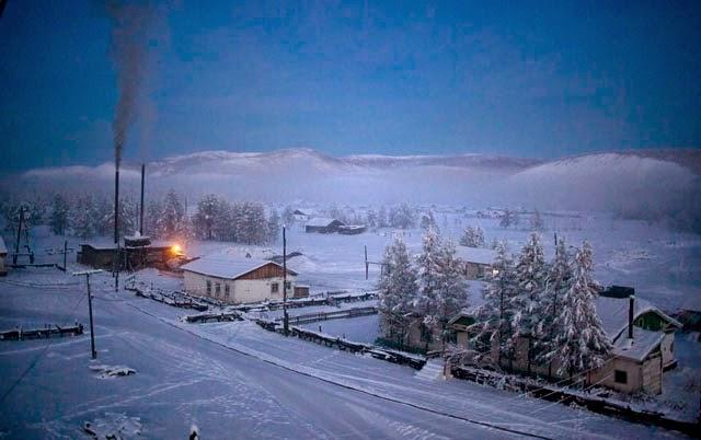 Ojmjakon la città più fredda della terra
