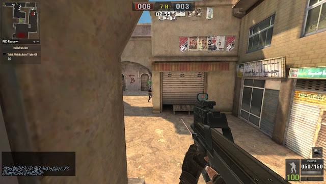 Senjata P90 Ext Point Blank