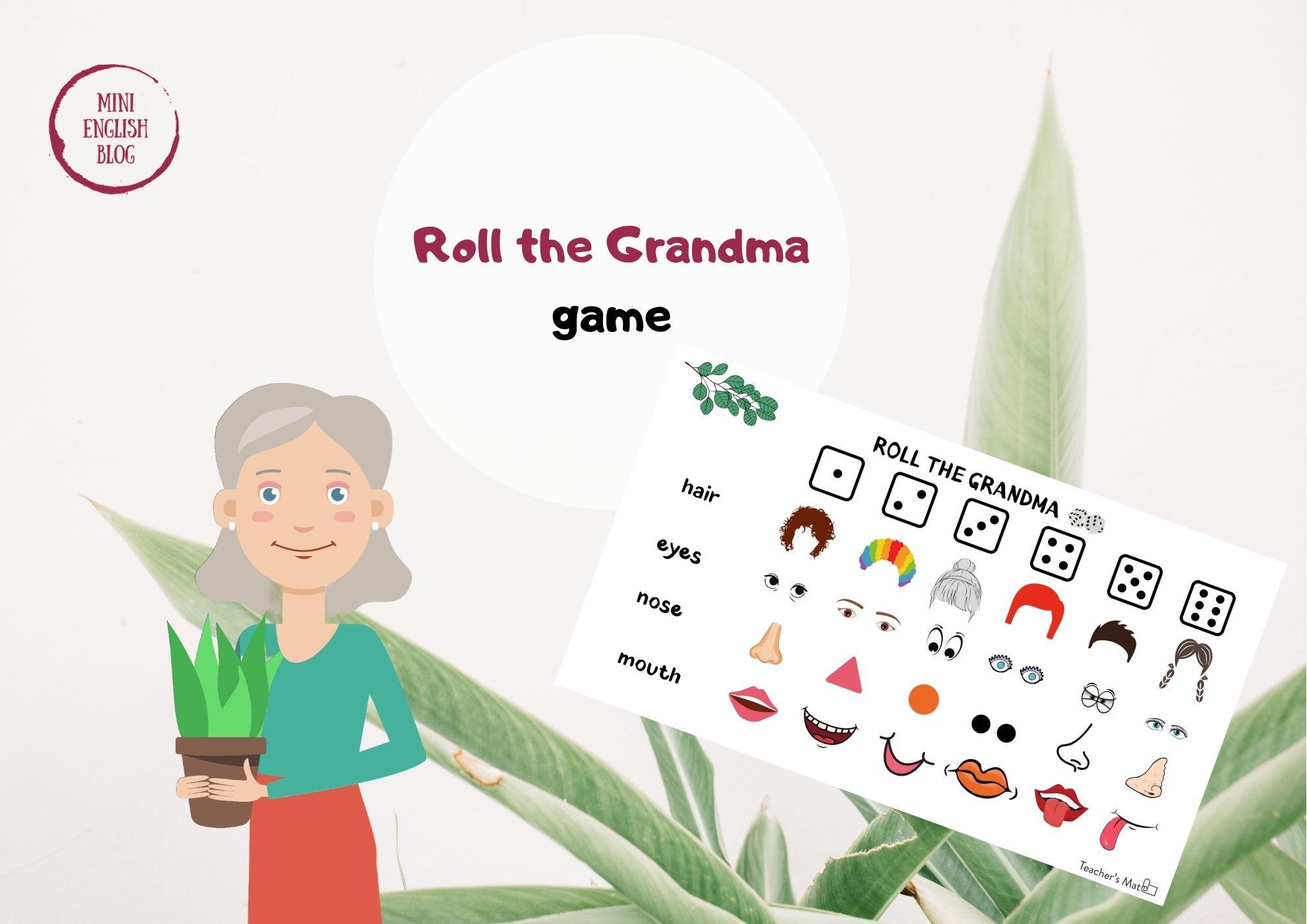 Roll the Grandma - game