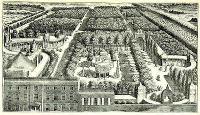 Vauxhall Gardens from an engraving dated 1751  from South London by W Besant (1899)