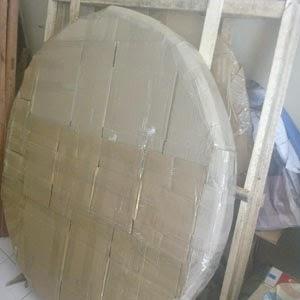 packing keramik di Medan.