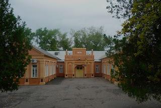 Новгородське. Парк. Клуб фенольного заводу. 1950 р.