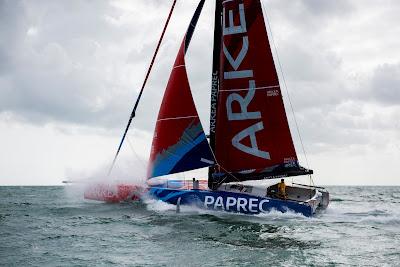 Abandon d'Arkéa Paprec sur la Rolex Fastnet Race