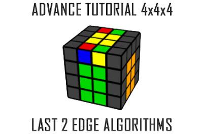 last 2 edges 4x4x4 cube - 1