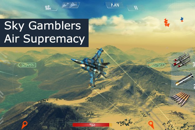 sky gamblers smartphone game free android ios