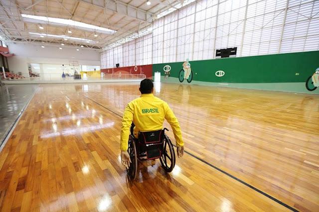 Centro de Treinamento Paralímpico inicia as suas operações