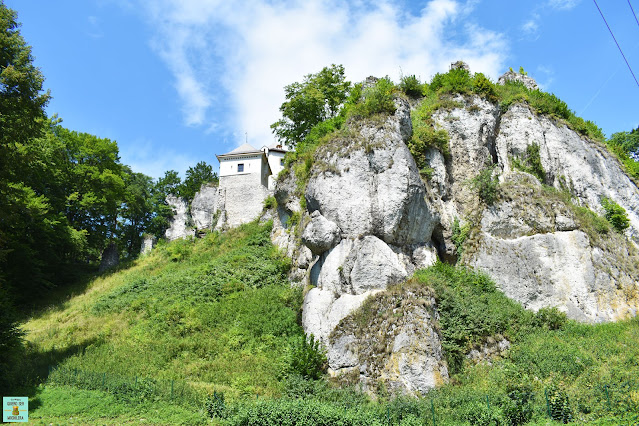 Castillo de Ojców, Polonia