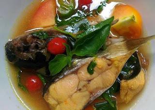 Ikan Pindang Meranjat siap disajikan
