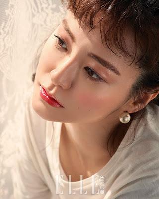 Jung Yoo Mi Elle June 2017