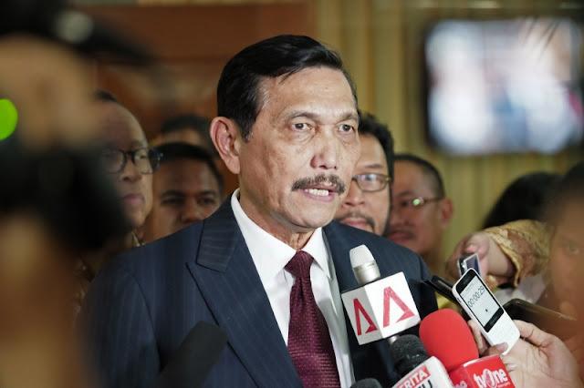 Luhut Tak Terima Prabowo Sebut Pemerintahan Jokowi Menyerah pada Asing