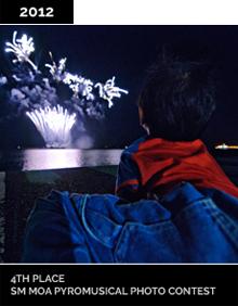 SM MOA Pyromusical Photo Contest Winner