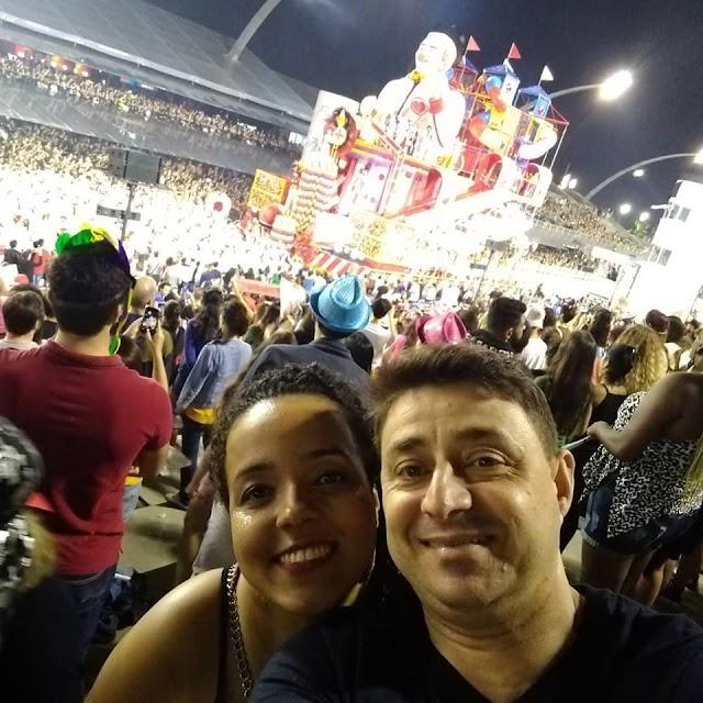Limoeirenses vão ao São paulo curtir o desfile das Escolas de Samba
