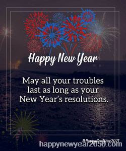 Loving Happy New Year Wishes 2021 for Family