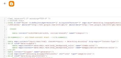 Edit HTML Theme