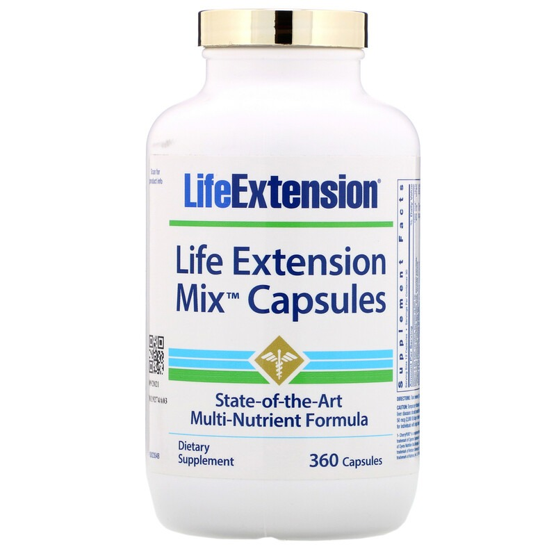 Life Extension, Смешанные капсулы, 360 капсул