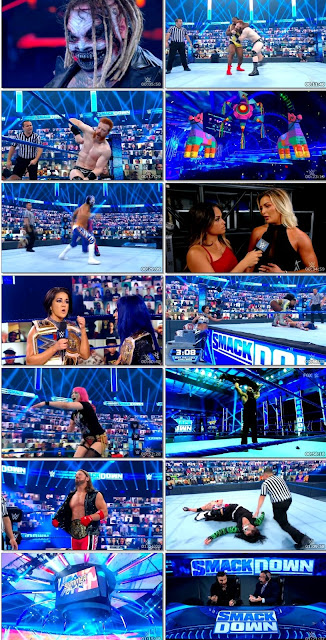 WWE Friday Night SmackDown 21st Aug 2020 480p 720p || 7starhd