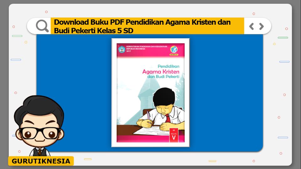 download buku pdf pendidikan agama kristen dan budi pekerti kelas 5 sd