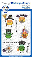 Candy Corn Dress Up Clear Stamps