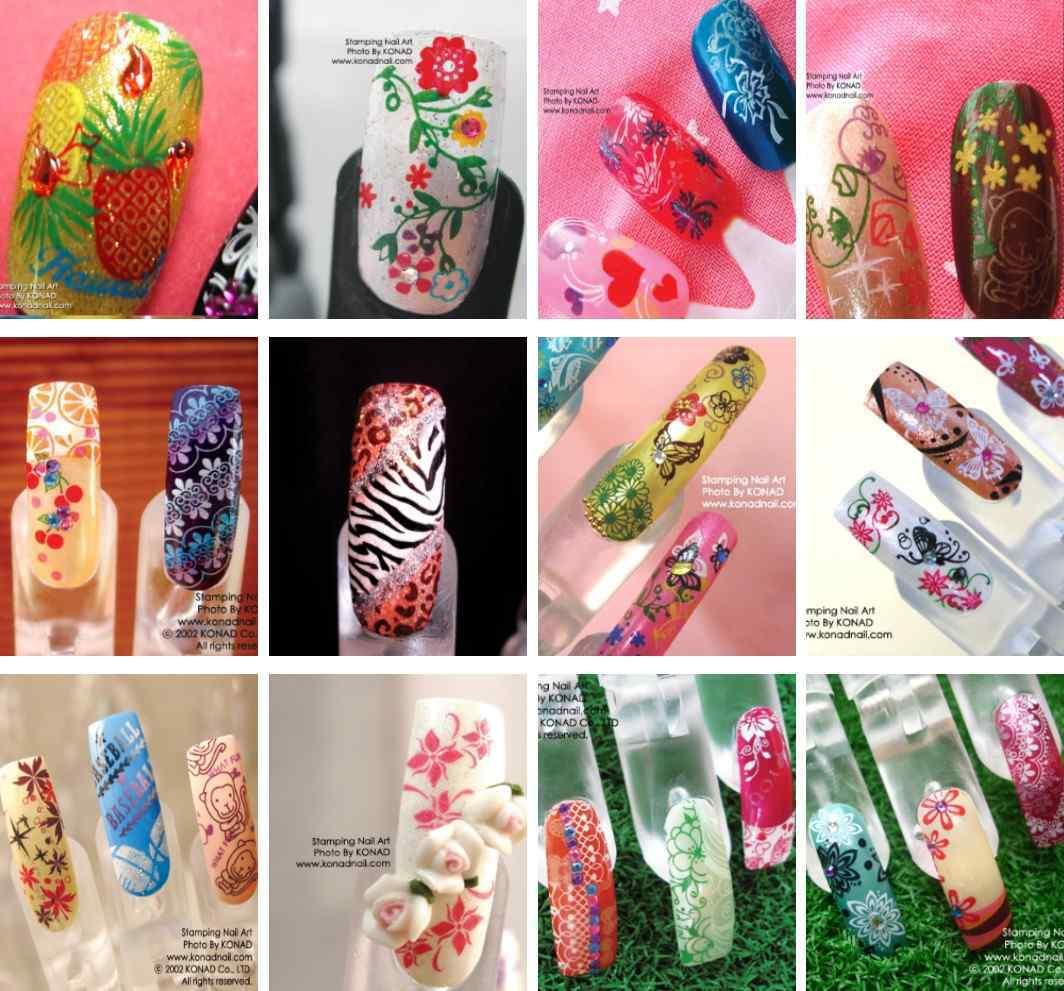 Nail Art Untuk Kulit Hitam: Dazzling Girl: NAILS ART