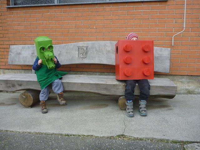 verkleiden als Krokodil Lego