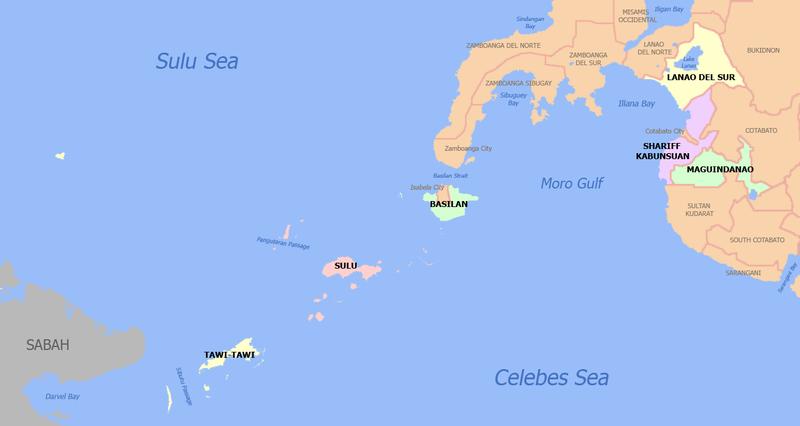Tawi Tawi Island Map