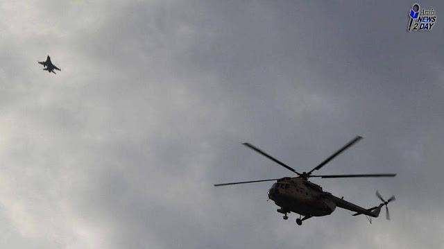 سبب سقوط الطائرة العسكرية المصرية واستشهاد قائدها .. شاهد التفاصيل