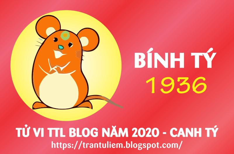 TỬ VI TUỔI BÍNH TÝ 1936 NĂM 2020 ( Canh Tý )
