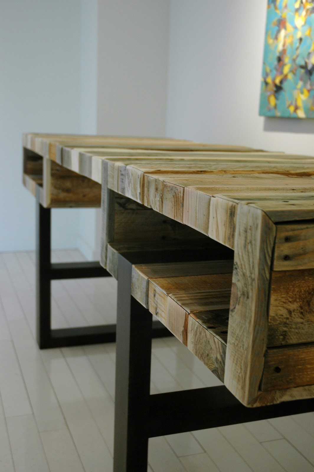 Hall Spassov The Pallet Desk