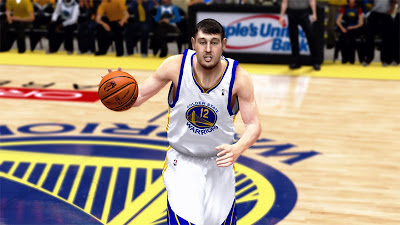 NBA 2K13 Andrew Bogut Cyberface New Hair Texture