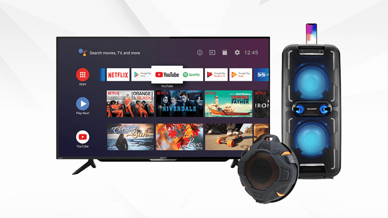 Sharp launches new bigger and better TV and audio products