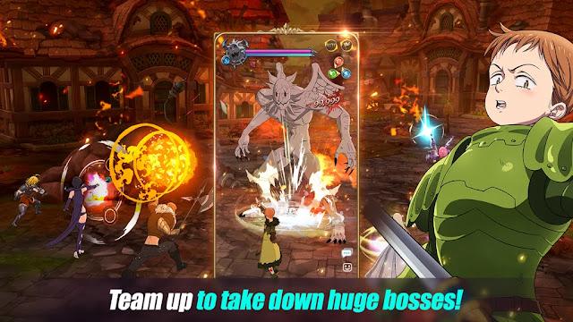 Screenshot The Seven Deadly Sins Grand Cross