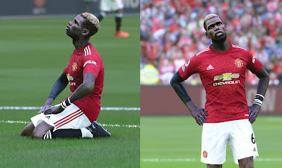 PES 2021 Faces Paul Pogba (Long Sleeve)