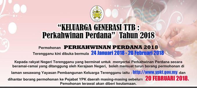 Muhammad Pehimi Yusof Boleh Mohon Perkahwinan Perdana Ttb 2018