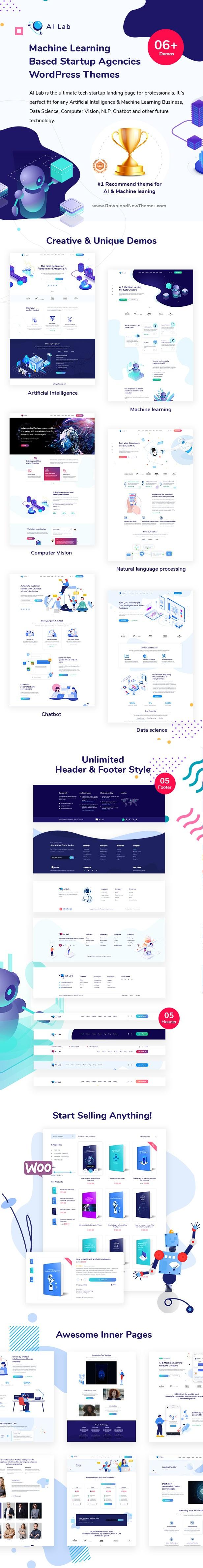 AI Startup Premium WordPress Theme