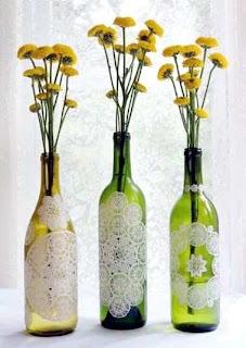 Cara Membuat Kerajinan Tangan Dari Botol Bekas, Vas Bunga
