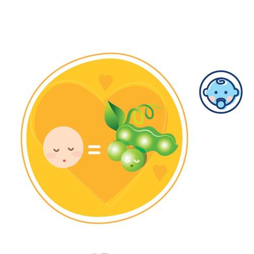 Kích cỡ của em bé ở tuần mang thai thứ 6 chỉ như một hạt đậu mà thôi.