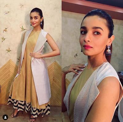alia bhatt Layered Dresses