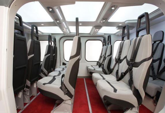 AgustaWestland AW189 interior