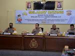 Menghadapi Zona Integritas Menuju WBK / WBBM, Polres Langsa Terima Kunjungan Tim Asistensi Polda Aceh TA 2021