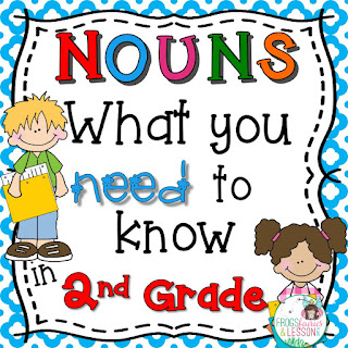 2nd Grade Noun Activities