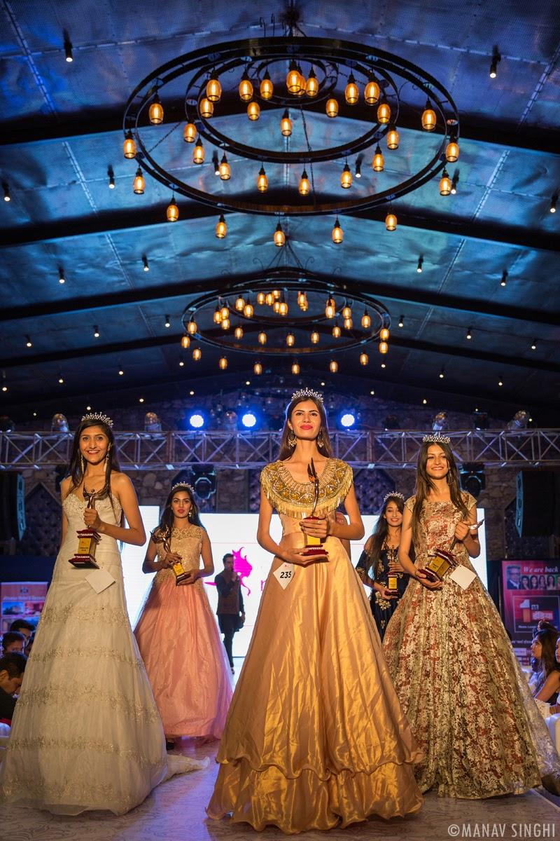 Arshina Sumbul, Rubal Shekhawat, Navnidhi singh, Gunjan Raghav, Varsha Mehlawat and Khushboo Dahiya The Top 6 Finalists.