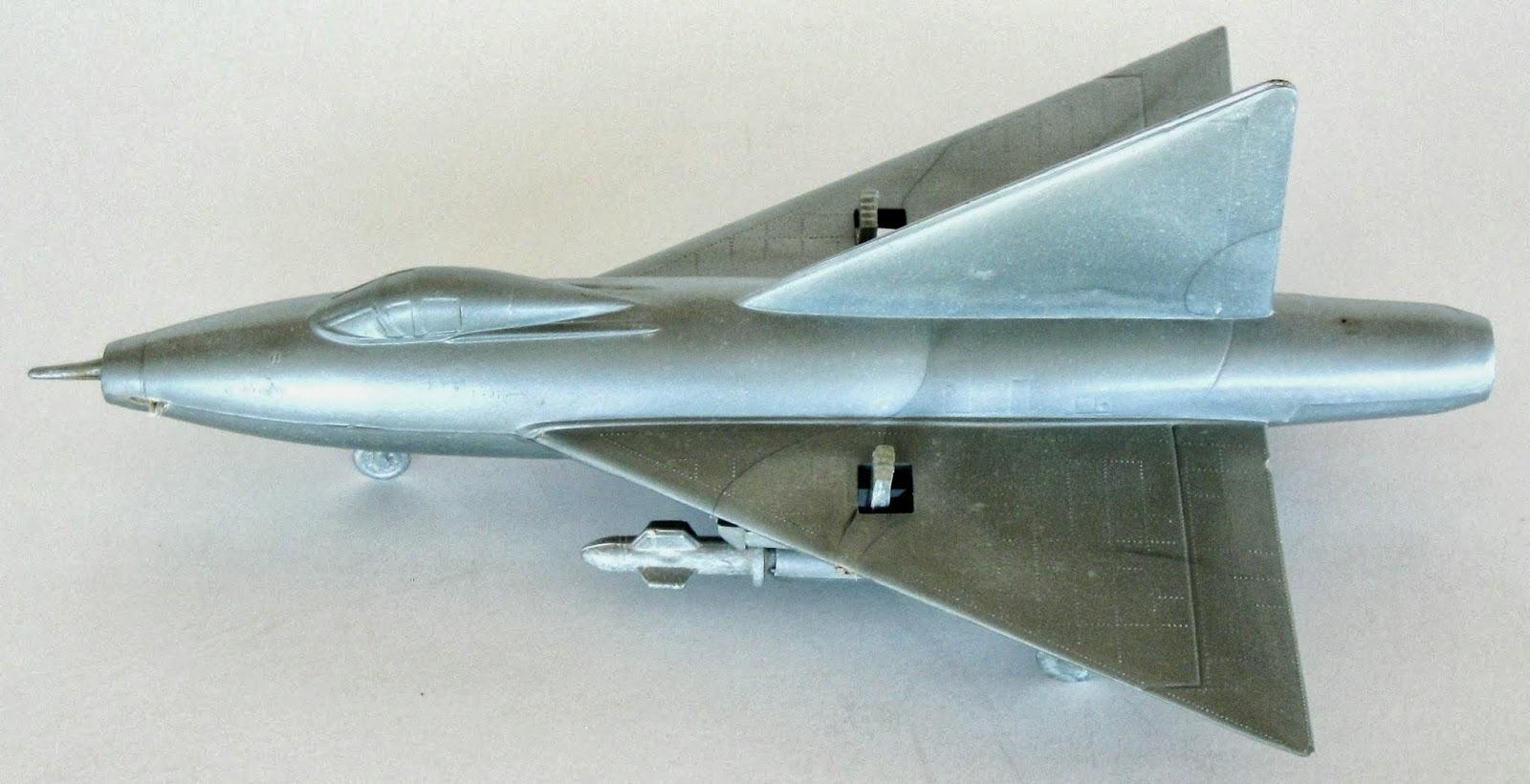 Toys and Stuff: Marx XF-92 Convair Dart