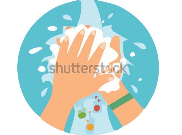 flat design illustration wash